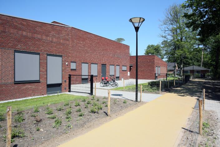Nieuwbouw zorgwoningen Bartiméus in Doorn